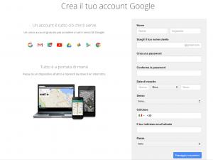 Account Gmail